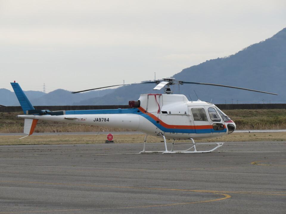 F.YUKIHIDEさんの東邦航空 Aerospatiale AS350 Ecureuil/AStar (JA9784) 航空フォト