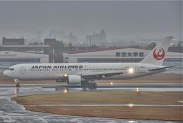 海山さんが、宮崎空港で撮影した日本航空 767-346/ERの航空フォト(飛行機 写真・画像)