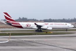 kinsanさんが、シンガポール・チャンギ国際空港で撮影したモーリシャス航空 A340-312の航空フォト(飛行機 写真・画像)