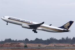kinsanさんが、シンガポール・チャンギ国際空港で撮影したシンガポール航空 A330-343Xの航空フォト(飛行機 写真・画像)