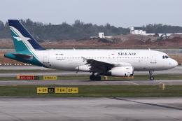 kinsanさんが、シンガポール・チャンギ国際空港で撮影したシルクエア A319-133の航空フォト(飛行機 写真・画像)