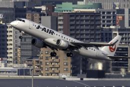 K.Sさんが、福岡空港で撮影したジェイエア ERJ-190-100(ERJ-190STD)の航空フォト(飛行機 写真・画像)