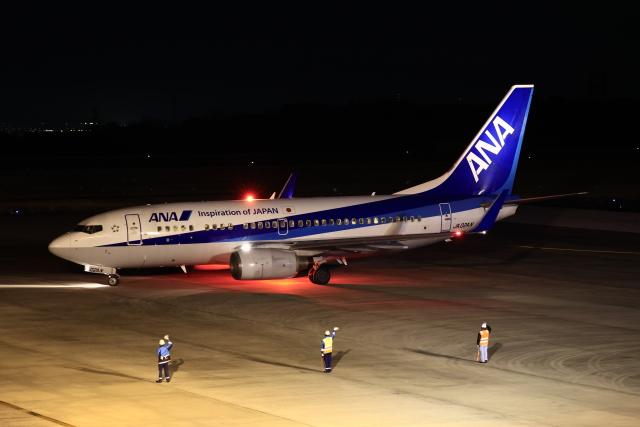ニヤンさんが、岡山空港で撮影した全日空 737-781の航空フォト(飛行機 写真・画像)
