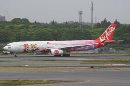 神宮寺ももさんが、成田国際空港で撮影したタイ・エアアジア・エックス A330-343Xの航空フォト(飛行機 写真・画像)