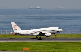 h_wajyaさんが、羽田空港で撮影したサニー・グループ A319-115CJの航空フォト(飛行機 写真・画像)
