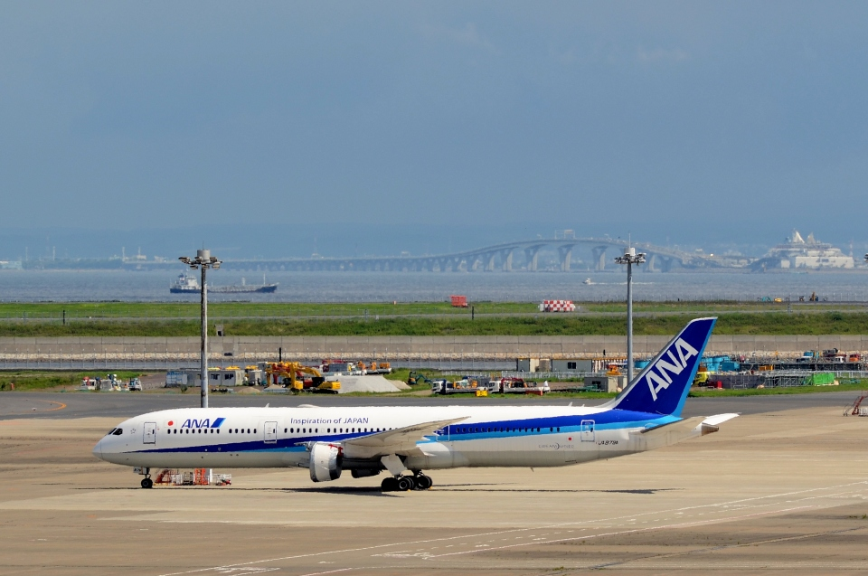 h_wajyaさんの全日空 Boeing 787-9 (JA879A) 航空フォト