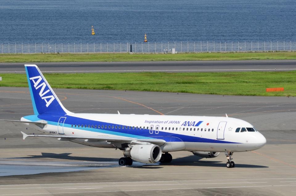 h_wajyaさんの全日空 Airbus A320 (JA8947) 航空フォト