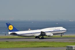 h_wajyaさんが、羽田空港で撮影したルフトハンザドイツ航空 747-830の航空フォト(飛行機 写真・画像)