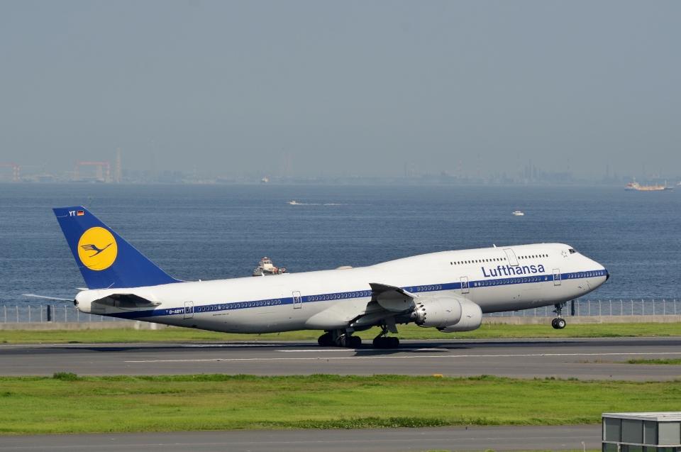 h_wajyaさんのルフトハンザドイツ航空 Boeing 747-8 (D-ABYT) 航空フォト