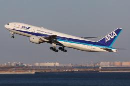 よんろくさんが、羽田空港で撮影した全日空 777-281の航空フォト(飛行機 写真・画像)