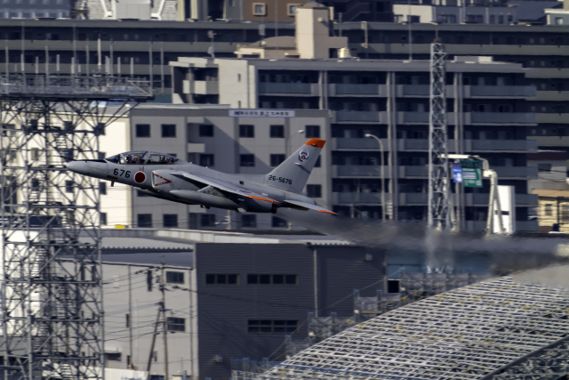 K.Sさんが、福岡空港で撮影した航空自衛隊 T-4の航空フォト(飛行機 写真・画像)