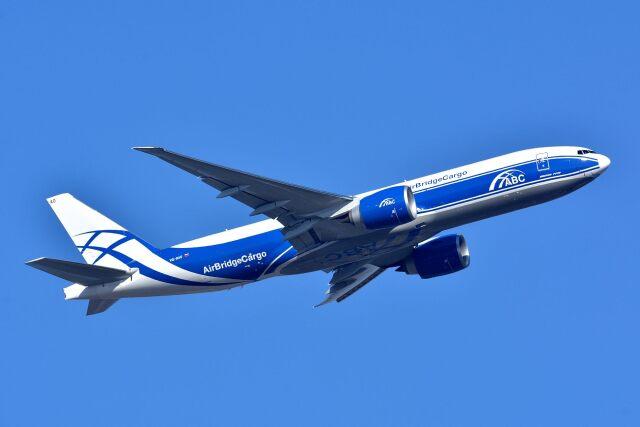 サンドバンクさんが、成田国際空港で撮影したエアブリッジ・カーゴ・エアラインズ 777-Fの航空フォト(飛行機 写真・画像)