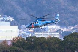 kaz787さんが、伊丹空港で撮影した兵庫県警察 EC155B1の航空フォト(飛行機 写真・画像)