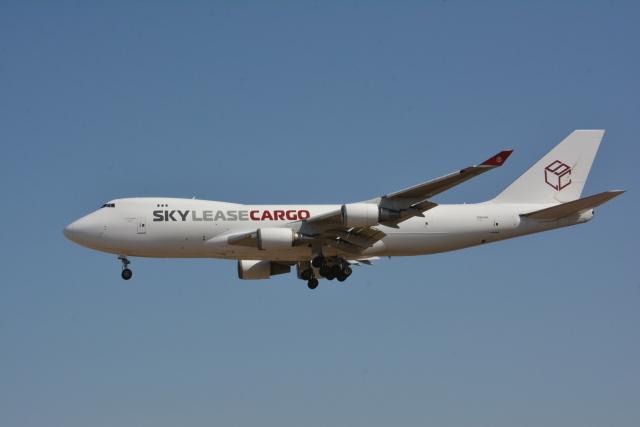 アルビレオさんが、成田国際空港で撮影したスカイ・リース・カーゴ 747-428F/ER/SCDの航空フォト(飛行機 写真・画像)