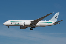 @たかひろさんが、成田国際空港で撮影したZIPAIR 787-8 Dreamlinerの航空フォト(飛行機 写真・画像)