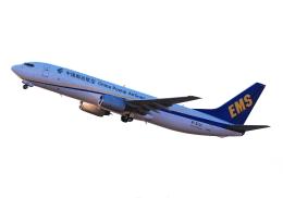 LOTUSさんが、関西国際空港で撮影した中国郵政航空 737-8Q8(BCF)の航空フォト(飛行機 写真・画像)