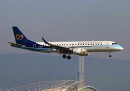 LOTUSさんが、関西国際空港で撮影したマンダリン航空 ERJ-190-100 IGW (ERJ-190AR)の航空フォト(飛行機 写真・画像)