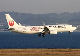 LOTUSさんが、関西国際空港で撮影したJALエクスプレス 737-846の航空フォト(飛行機 写真・画像)