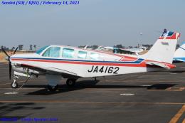 Chofu Spotter Ariaさんが、仙台空港で撮影した日本個人所有 A36 Bonanza 36の航空フォト(飛行機 写真・画像)