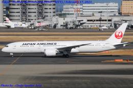 Chofu Spotter Ariaさんが、羽田空港で撮影した日本航空 787-9の航空フォト(飛行機 写真・画像)