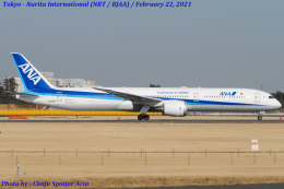 Chofu Spotter Ariaさんが、成田国際空港で撮影した全日空 787-10の航空フォト(飛行機 写真・画像)