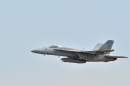 takita16さんが、岩国空港で撮影したアメリカ海軍 F/A-18E Super Hornetの航空フォト(飛行機 写真・画像)