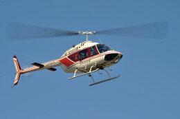 NIKKOREX Fさんが、群馬ヘリポートで撮影したアカギヘリコプター 206B-3 JetRanger IIIの航空フォト(飛行機 写真・画像)