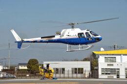 NIKKOREX Fさんが、群馬ヘリポートで撮影した昭和リース AS350B3 Ecureuilの航空フォト(飛行機 写真・画像)