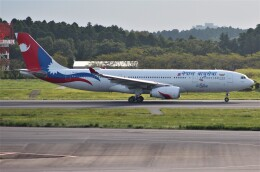 Rsaさんが、成田国際空港で撮影したネパール航空 A330-243の航空フォト(飛行機 写真・画像)