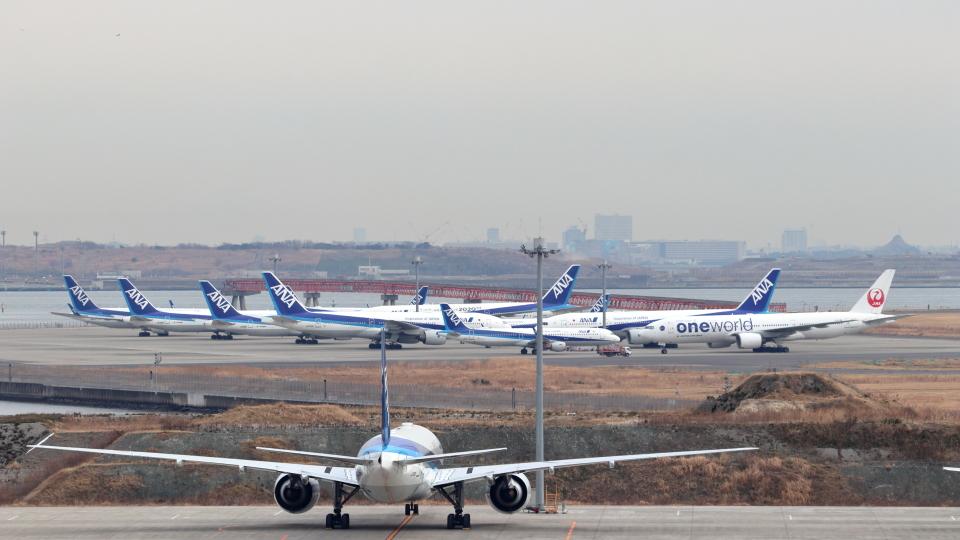 誘喜さんの日本航空 Boeing 777-200 (JA771J) 航空フォト