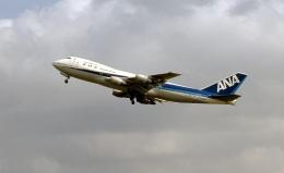 LEVEL789さんが、岡山空港で撮影した全日空 747SR-81の航空フォト(飛行機 写真・画像)