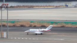 誘喜さんが、羽田空港で撮影したフジビジネスジェット 525A Citation CJ2+の航空フォト(飛行機 写真・画像)