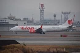 bachi51さんが、福岡空港で撮影したタイ・ライオン・エア 737-9-MAXの航空フォト(飛行機 写真・画像)