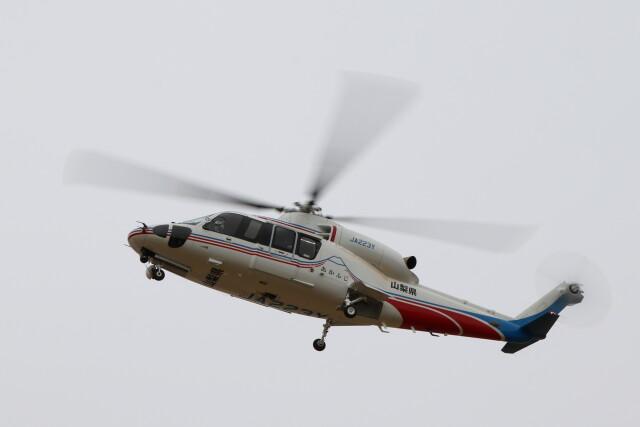 redarrowさんが、群馬ヘリポートで撮影した山梨県消防防災航空隊 S-76Dの航空フォト(飛行機 写真・画像)