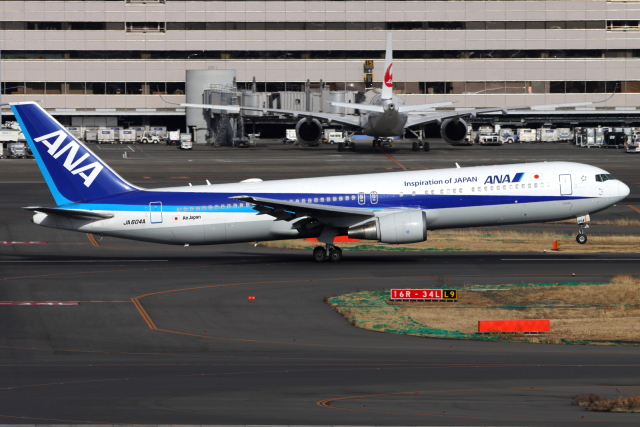 とらとらさんが、羽田空港で撮影した全日空 767-381/ERの航空フォト(飛行機 写真・画像)