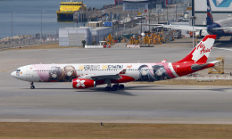 Asamaさんが、香港国際空港で撮影したエアアジア・エックス A330-343Xの航空フォト(飛行機 写真・画像)