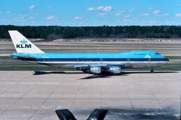 パール大山さんが、ジョージ・ブッシュ・インターコンチネンタル空港で撮影したKLMオランダ航空 747-206B(SUD)の航空フォト(飛行機 写真・画像)