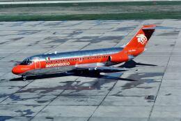 パール大山さんが、ジョージ・ブッシュ・インターコンチネンタル空港で撮影したアエロメヒコ航空 DC-9-15の航空フォト(飛行機 写真・画像)