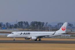 しかばねさんが、仙台空港で撮影したジェイエア ERJ-190-100(ERJ-190STD)の航空フォト(飛行機 写真・画像)