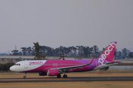 しかばねさんが、仙台空港で撮影したピーチ A320-214の航空フォト(飛行機 写真・画像)