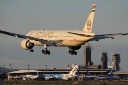 メンチカツさんが、成田国際空港で撮影したエティハド航空 777-3FX/ERの航空フォト(飛行機 写真・画像)