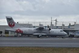 若鷹軍団さんが、与論空港で撮影した日本エアコミューター ATR-42-600の航空フォト(飛行機 写真・画像)