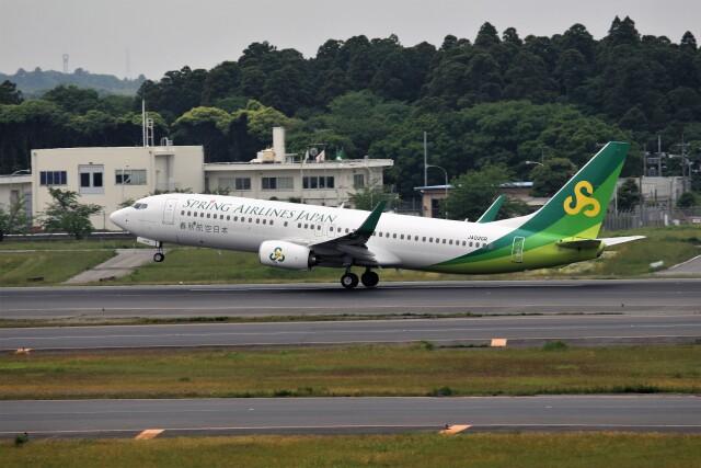 もぐ3さんが、成田国際空港で撮影した春秋航空日本 737-86Nの航空フォト(飛行機 写真・画像)