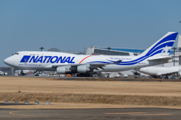 Tomo-Papaさんが、成田国際空港で撮影したナショナル・エアラインズ 747-412(BCF)の航空フォト(飛行機 写真・画像)