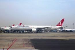 Hiro-hiroさんが、アタテュルク国際空港で撮影したターキッシュ・エアラインズ 777-35R/ERの航空フォト(飛行機 写真・画像)