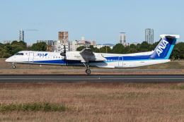 I.Kさんが、伊丹空港で撮影したANAウイングス DHC-8-402Q Dash 8の航空フォト(飛行機 写真・画像)