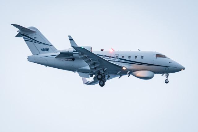 I.Kさんが、嘉手納飛行場で撮影した民間企業の航空フォト(飛行機 写真・画像)