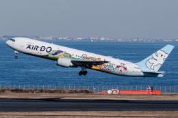 I.Kさんが、羽田空港で撮影したAIR DO 767-381の航空フォト(飛行機 写真・画像)