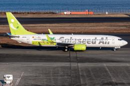 I.Kさんが、羽田空港で撮影したソラシド エア 737-86Nの航空フォト(飛行機 写真・画像)