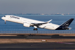 I.Kさんが、羽田空港で撮影したルフトハンザドイツ航空 A350-941の航空フォト(飛行機 写真・画像)